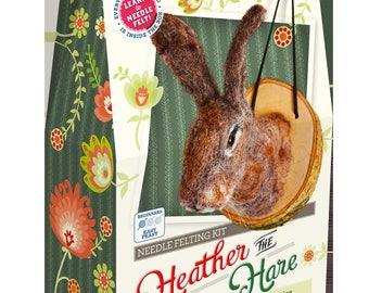 Heather the Hare Needle Felting Kit