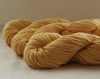 CARAMEL ~ ARAN Pure natural Cotton yarn ~ co.no 4