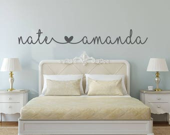 Lovely Name Decal   Name Stickers   Bedroom Wall Decal   Bedroom Decor   Bedroom  Wall Decor