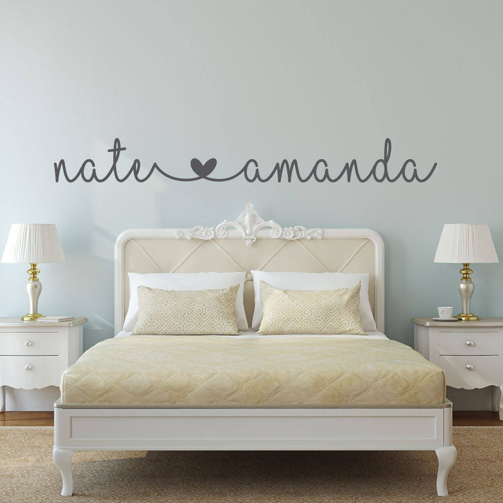 charming bedroom wall art stickers | Name Decal Name Stickers bedroom wall decal bedroom