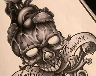 Customized Tattoo Design and Sample