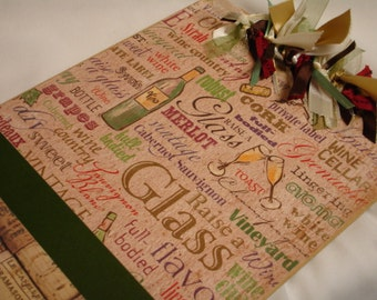 WINE and CORKS CLIPBOARD