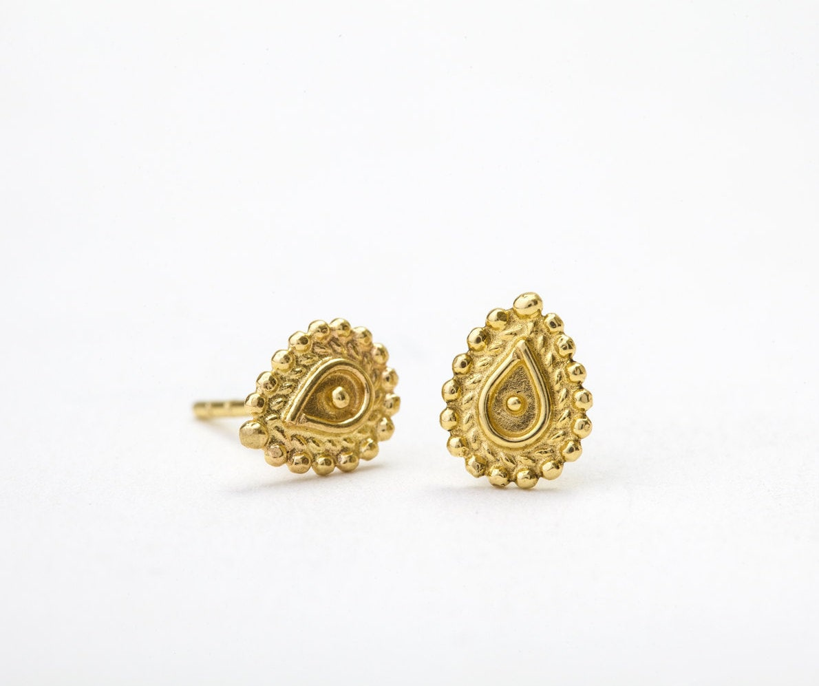 filigree collection ladies in earrings gold earring for indian