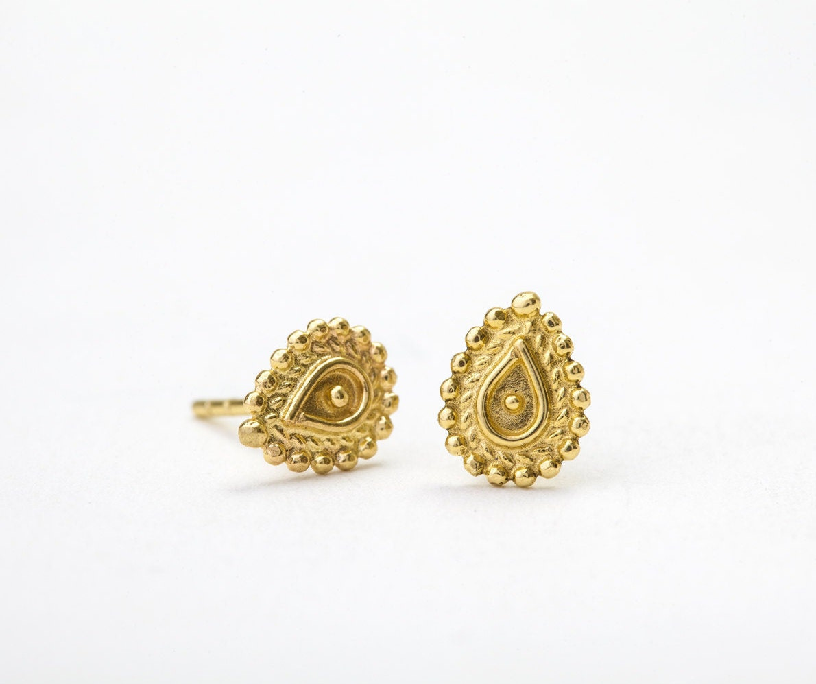 manubhai hoop indian jewels earrings india south designer gold