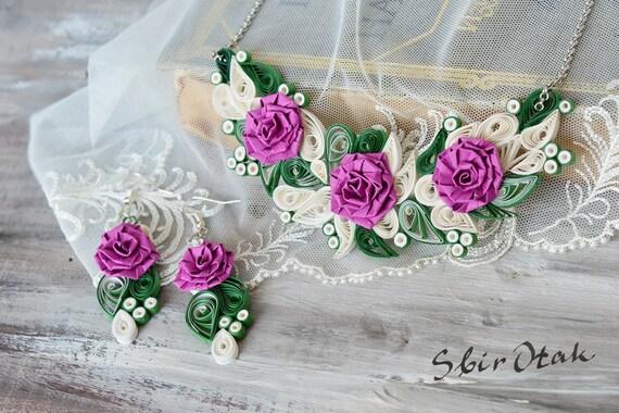 1st anniversary rose ~ 1st anniversary rose flower gift ooak paper jewelry