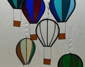 Bristol Ballons Glass Sun-catcher