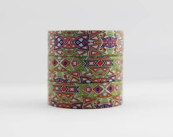 Washi tape foil tape colorful pattern abstract masking tape