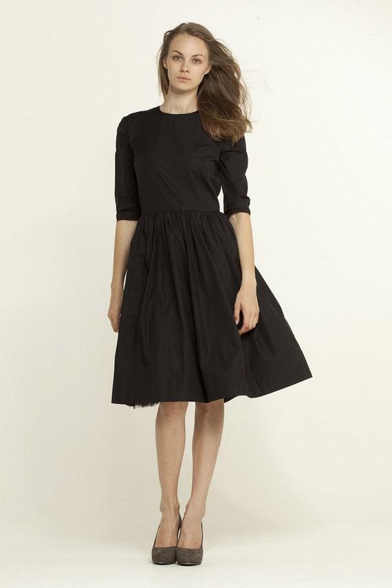 LBD schwarz und weißen Kleid die kleine schwarze Kleid mit