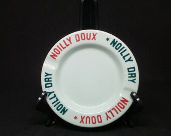 Ashtray Nouilly Dry / Noilly sweet, Vermouth, empty pocket, advertising item