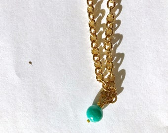 Amazonite gold fill necklace, lilyb444, Gifts for her, jewelry,