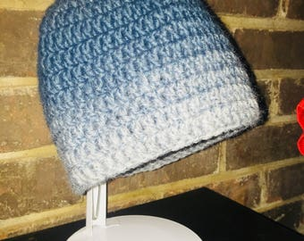 Simple crocheted hat