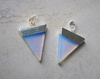 Opalite Triangle Pendant/Necklace/Choker - 50% Off