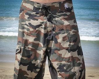 Camo Bomb Boardshorts (2 Colors)