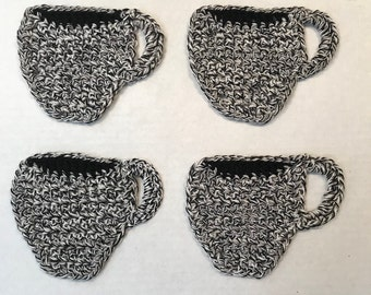Hand Crochet Coffee Cup Coasters