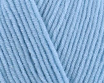 King Cole Cherished Baby DK Yarn - 1418 Pale Blue