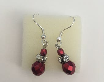 Red Carmen Earrings