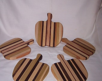 Small Apple Cutting Board