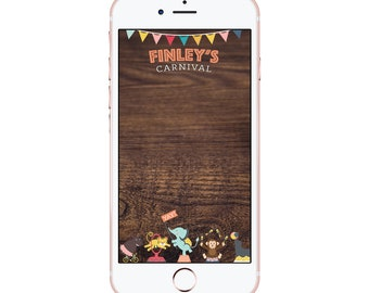 Carnival Festival Zoo Birthday Snapchat Filter