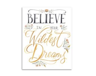 Wildest Dreams 8x10 art print