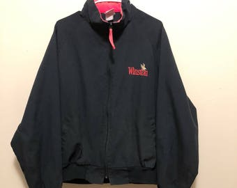 Black and Pink Winston XL Jacket