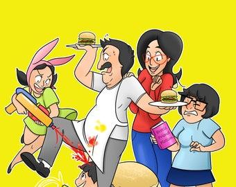 Bob's Burgers 11x17 Print