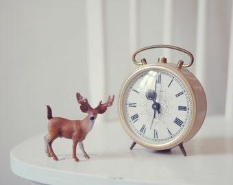 Vintage russian alarm clock Jantar - working condition