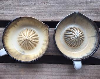 Handmade Ceramic Citrus Juicer