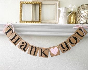 Thank you Banner Wedding Banner