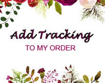 Listing 2 - Add Tracking To My Order