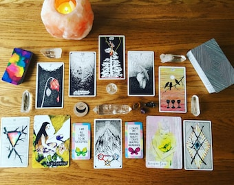 Business Coaching Call and Tarot Reading
