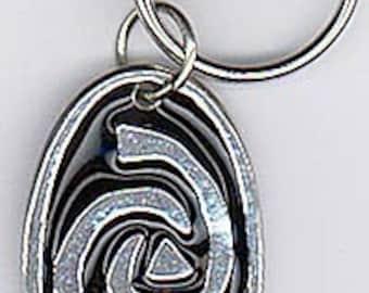 Roswell Inspired Alien Design Keychain
