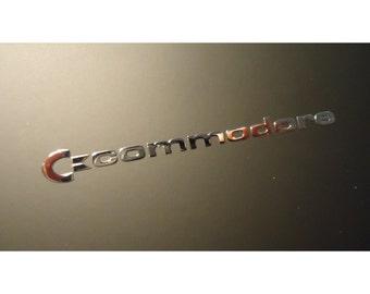 Commodore C64 Label / Aufkleber / Sticker / Badge / Logo 5cm x 0.5 cm [130]