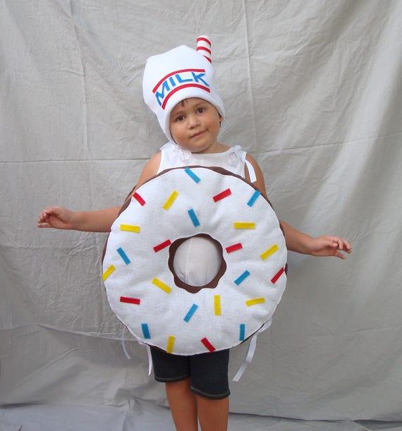 sc 1 st  Etsy & Kids Doughnut Costume Donut Costume Icing Sprinkles Girls