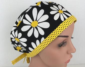 Pixie Surgical Scrub Hat, Nurse Hat, Chemo Cap Scrubhats Scrub hats for Women