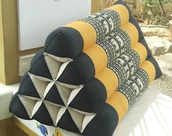 KAPOK CUSHION,THAI cushion,Floor cushion,Foldable mattress triangle cushion,Kapok Thai triangle cushion