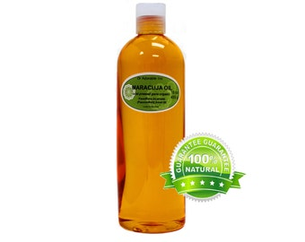 Maracuja oil 100% pure organic Passionfruit oil Cold Pressed 16 oz