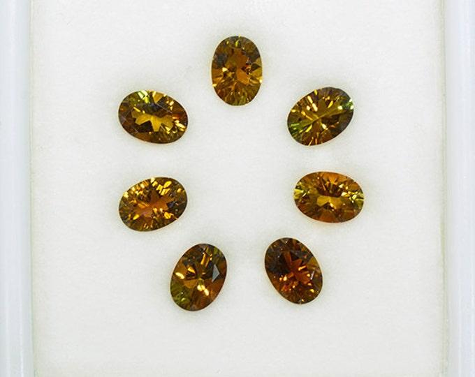 Beautiful Sunset Tourmaline Gemstone Set from Tanzania 5.75 tcw