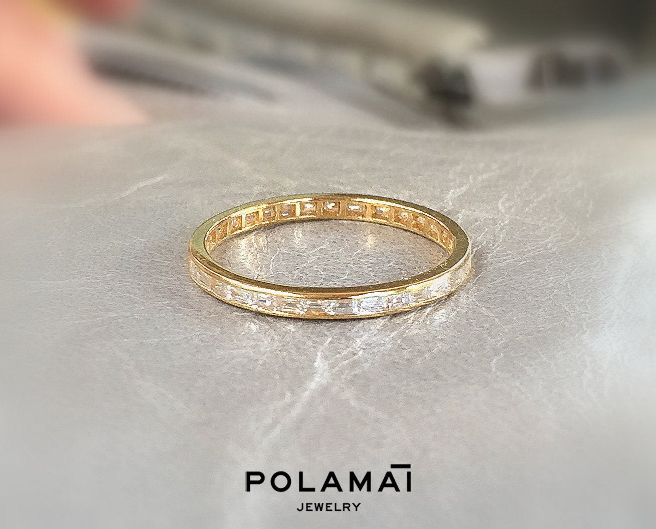bands fixed products ring the gold eternity white carats carat diamond semi with band baguette karat