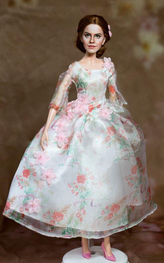 OOAK Beauty And The Beast Wedding Celebration Belle Doll Disney Store Repaint