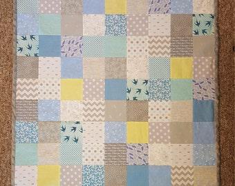 Sweet Baby Birds Baby/Toddler Blanket