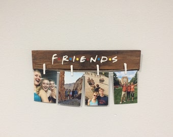 Friends TV Show Picture Hanger, Photo Hanger, Photo Display