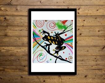 Poster Artistico 50x70cm RANA 2