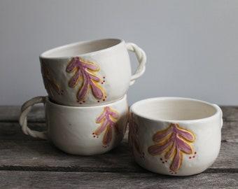 Twist Handle Mug