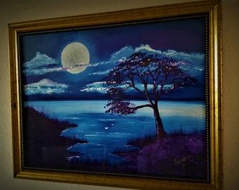 Lake Malawi Moon light dreams
