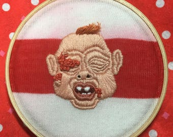 Dead Alive baby embroidery