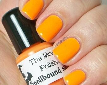 Summer Citrus - Neon Orange Creme Nail Polish