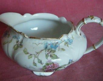 Limoges Porcelain Creamer or Milk Jug GDA France Vintage