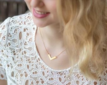 Gold Filled V Necklace VIETNAM dainty 14k gold filled chain necklace