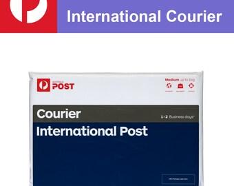 International Courier Postage UPGRADE