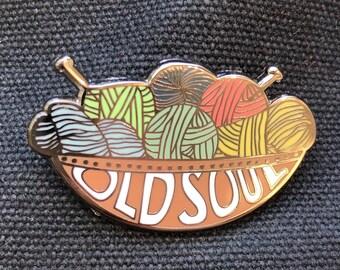 Yarn Bowl - Old Soul - Enamel Pin